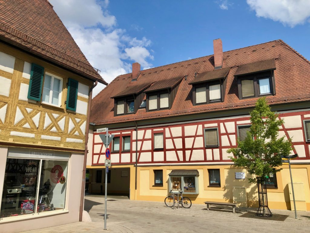 An example of the old architecture in Herzogenaurach, Germany.