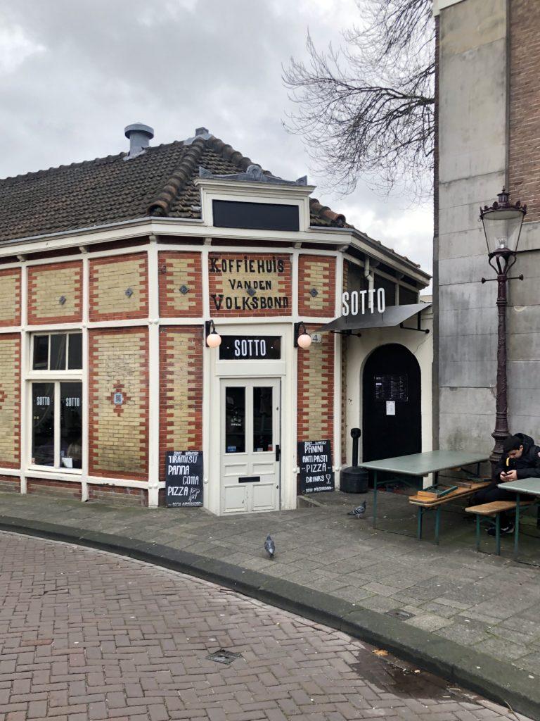 Sotto Pizza in Amsterdam.